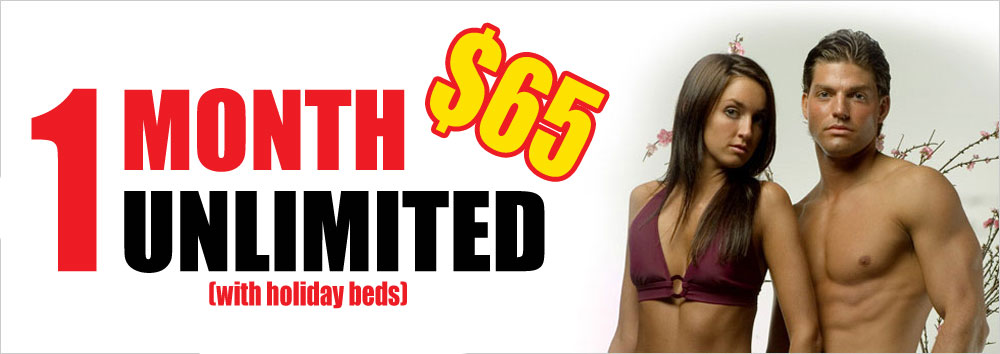 1 Month Unlimited Tanning